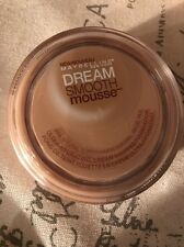 MAYBELLINE DREAM SMOOTH MOUSSE FOUNDATION NEW & SEALED 255 NATURAL BUFF
