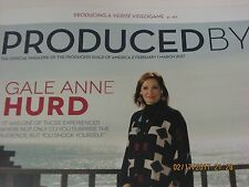 PRODUCED BY MAGAZINE FEBRUARY/MARCH 2017 GALE ANNE HURD COVER PGA POWER PRODUCER