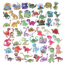 50Pcs Cartoon dinosaur mixed stickers scrapbook suitcase laptop guitar sticke Ep