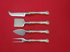 Pompadour by Whiting Sterling Silver Cheese Serving Set 4 Piece HHWS  Custom