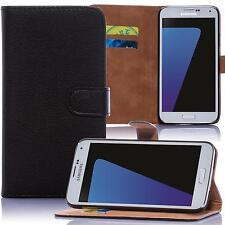 Book Handy Tasche Samsung Galaxy S5 mini SM-G800F Cover Hülle Etui Case Schwarz