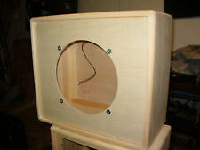 1 x 12 112 guitar extension speaker cabinet TRM closed back unfinished project.