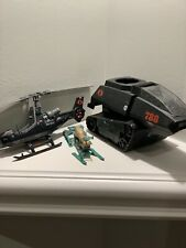 LOT 3 VINTAGE 80s GI Joe Vehicles Cobra Hiss Tank Cobra Fang Chopper Snow Mobile