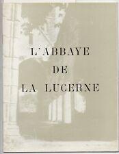 ABBAYE DE LA LUCERNE MANCHE ABBE LELEGARD ART DE BASSE NORMANDIE