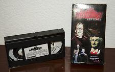 1996 THE MUNSTERS REVENGE TV MONSTER VHS CASSETTE w/ PICTURE SLEEVE