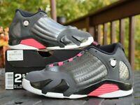 Nike Air Jordan 14 Retro GP 'Hyper Pink'  654970-028  Youth Size 2.5Y