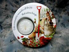 Marjolein Bastin Collectible Ceramic Tea light holder Demdaco from 2008