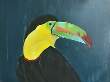 Acrylic Toucan Painting