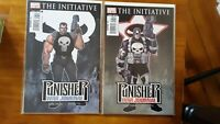 Punisher War Journal 7 Variant The Initiative High Grade Comic Book RM9-137