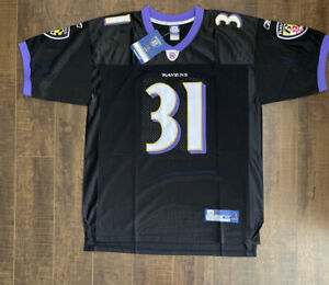 Jamal Lewis Reebok Authentic Baltimore Ravens Jersey - Brand New Size 50 (D2)
