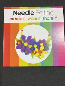 Jewellery Maker Instructional DVD: Needle Felting