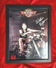 Willie Nelson hand-signed photo  BORN FOR TROUBLE w-COA & autograph comparison