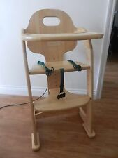 East Coast Wooden Highchair Grows With Child Chair Multi Height .
