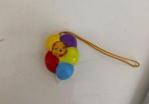 Winnie The Pooh Keychain Phone Charm Mini Disney Pooh In Balloons