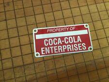 Coca-Cola Collectible Coca-Cola Macnine ID Tag