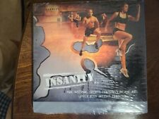 BeachBody Insanity Total Body Workout by Shaun T Complete 10 DVD Set SEALED NEW!