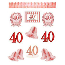 Amscan Decoration Kit 40th Anniversary