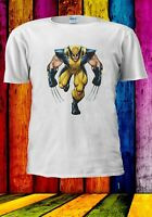 X-Men Wolverine Logan Superhero Men Women Unisex T-shirt 2867