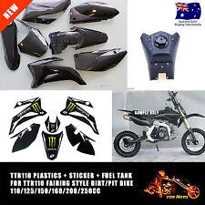 For TTR110 Stickers/Tank/Plastics 110/125/150/160/200/250CC Pitpro/Thumpstar