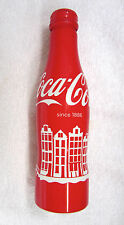 Aluminum Coca-Cola bottle Amsterdam The Netherlands Ships from USA Full Coke HTF