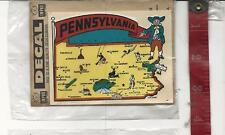 Vintage travel water decal Impko Pennsylvania FREE SHIPPING