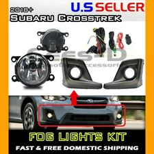 [complete] FOG LIGHT KIT for 18 19 20 Subaru Crosstrek (housing+switch+wiring)