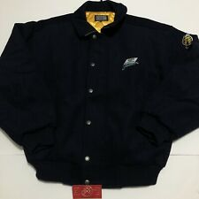 Vintage Mugen Honda Jordan Collection Jacket Yellow Racing Team JDM Rare 無限 Coat