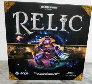Warhammer 40000 40k Relic Fantasy Flight FFG Edge Español