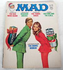 Vintage Mad magazine #188 January 1977 Six Million Dollar Man Bionic Woman