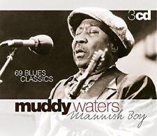 MUDDY WATERS - MANNISH BOY  3 CD NEUF