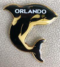 Souvenir Orlando Florida Orca Whale Killer Metal Magnet - New