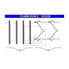 ATE 13.0460-0339.2 Zubehörsatz, Scheibenbremsbelag   für Mazda 323 C IV