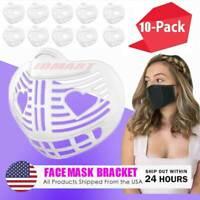 10-Piece Face Mask Bracket Inner Support Frame 3D Mask Spacer Reusable Holder