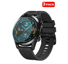 For Huawei Watch GT 2 46mm Tempered Glass Screen Protector Cover [3 Pack]