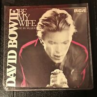 David Bowie Singles Bundle Be My Wife Spain 7in single ex plus 2 promos ex