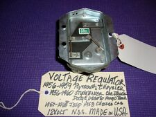 1956-1960 CHRYSLER DESOTO DODGE PLYMOUTH STUDEBAKER JEEP VOLTAGE REGULATOR VR15