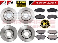 FOR PEUGEOT 308 1.6 HDi 93BHP FRONT AND REAR PREMIUM BRAKE DISCS PADS 2013-2018