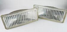 1 PAIR LEFT&RIGHT BMW E28 E30 FOG LIGHT LAMP GENUINE ZKW LENS #63 17 1 375 067-8