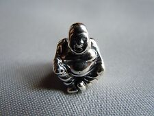 Genuine PANDORA Smiling Meditation BUDDHA Sterling # 790478 Signed 925 ALE