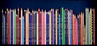 Berol/Sanford/Eagle PRISMACOLOR/Prang/Lyra Pencils Lot of 54 +4 1/2 Metallic Vtg