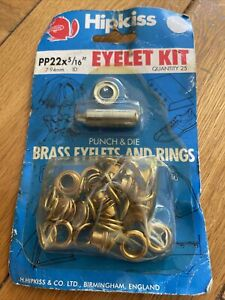 Hip kiss Brass Eyelet And Rings Kit 7.94mm
