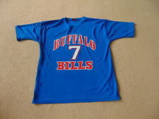 Buffalo Bills NFL AMERICAN FOOTBALL JERSEY T-Shirt-Flutie #7 - Mens Medium