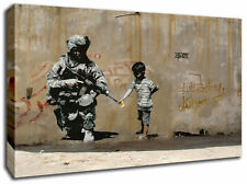 Banksy Canvas Art Prints