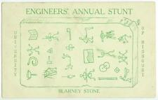 1910 University of Missouri - Columbia - Engineers' Annual Stunt rebus puzzle