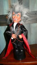 "Vintage Halloween 1988 Funny Toys Corp Dracula Vampire 18"" Figure Lights & Sound"