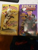 Roy Rogers Vhs (2) Tape Set Brand New Sealed