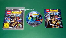 Lego Batman 2 DC Super Heroes mit Anleitung und OVP fuer Playstation 3 PS3