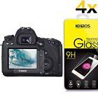 4x Khaos Tempered Glass Screen Protector For Canon EOS 7D Mark II / 70D / 80D