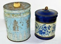 VINTAGE HUNTLEY AND PALMERS Reading BISCUIT TIN & Other Old Tin