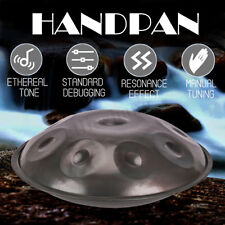 9 Notes Handpan Drum Hand Pan Carbon Steel Percussion Durable High-Grade + Bag